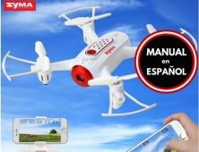 Multicoptero FPV Syma X22W Manual Español