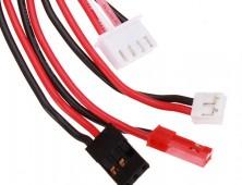 conectores bateria lipo emisora hubsan 501 pro