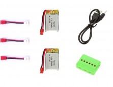 x21w pack 2 baterias + cargador