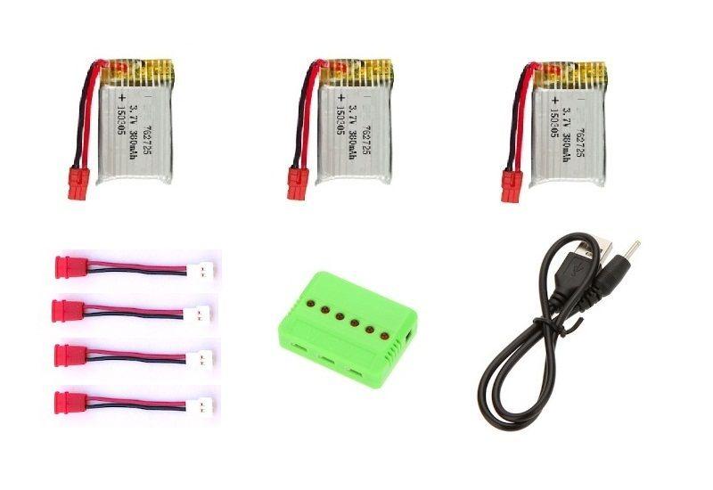 x21w pack 3 baterias + cargador