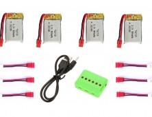 x21w pack 4 baterias + cargador