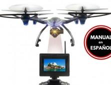 Drone JXD 506G con vision FPV Manual Español