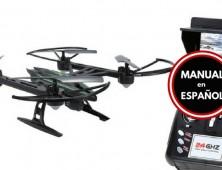 Drone JXD 510G grabacion en directo FPV Manual Español