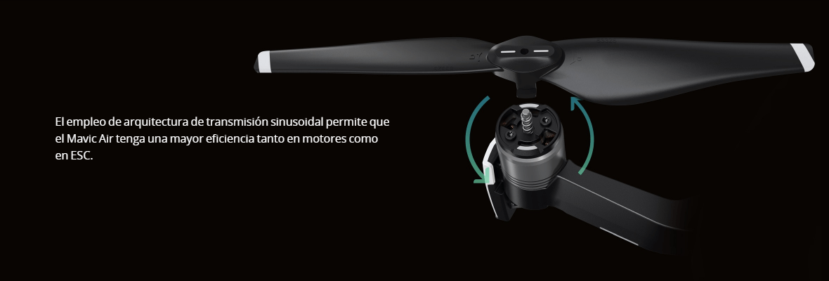 Multicoptero FPV Mavic Air mas eficiente
