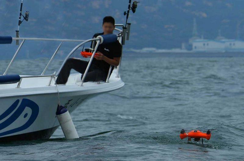 Splash Drone 3 - Para Pesca Deportiva