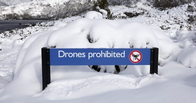 Donde volar mi drone