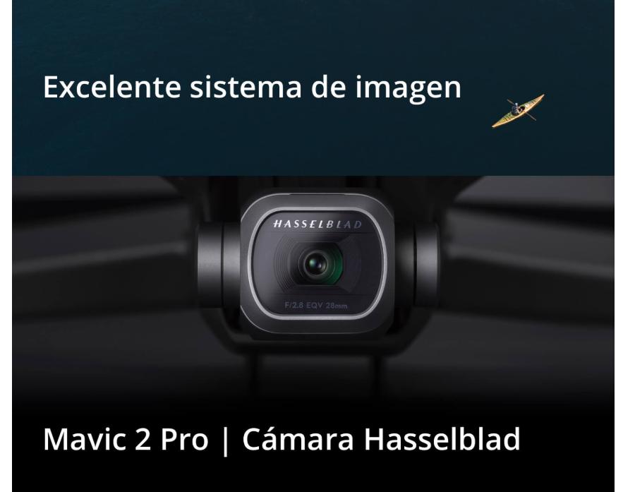 RPA DJI Mavic 2 excelente sistema de imagen