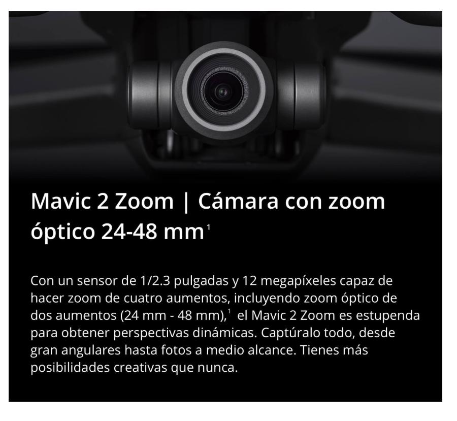 Nuevo drone DJI Mavic 2 Zoom