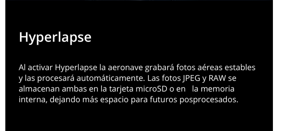 Nuevo drone DJI Mavic 2 hyperlapse