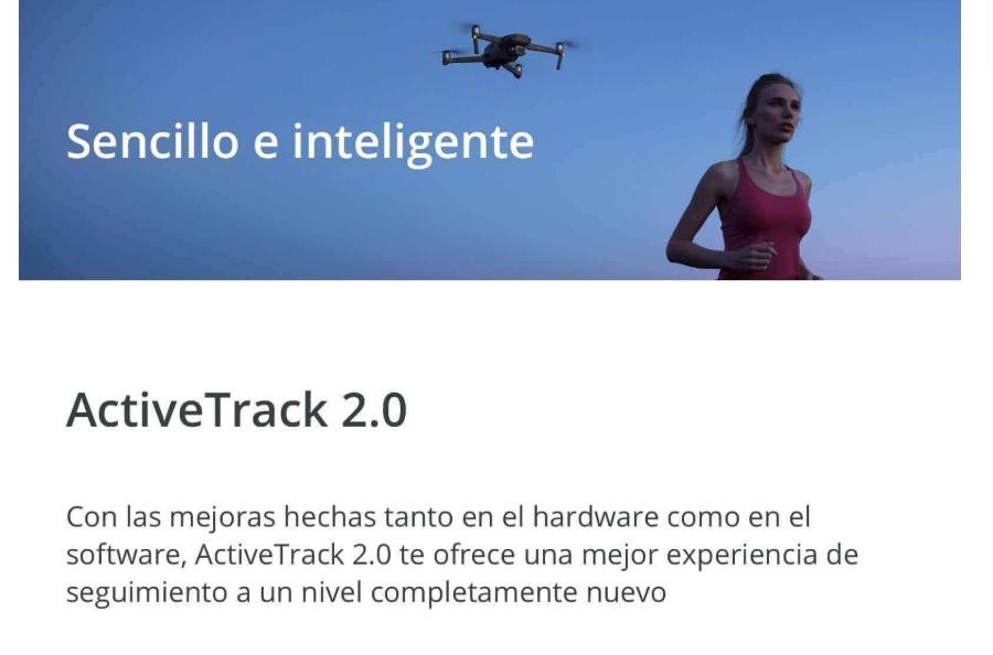 Nuevo dron DJI Mavic 2 sencillo e inteligente