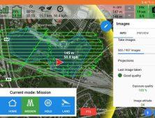 Aplicacion Delair After Flight para drone mapeo UX11