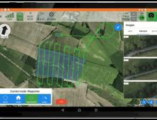 Aplicacion Delair Flight Deck para drone industrial UX11