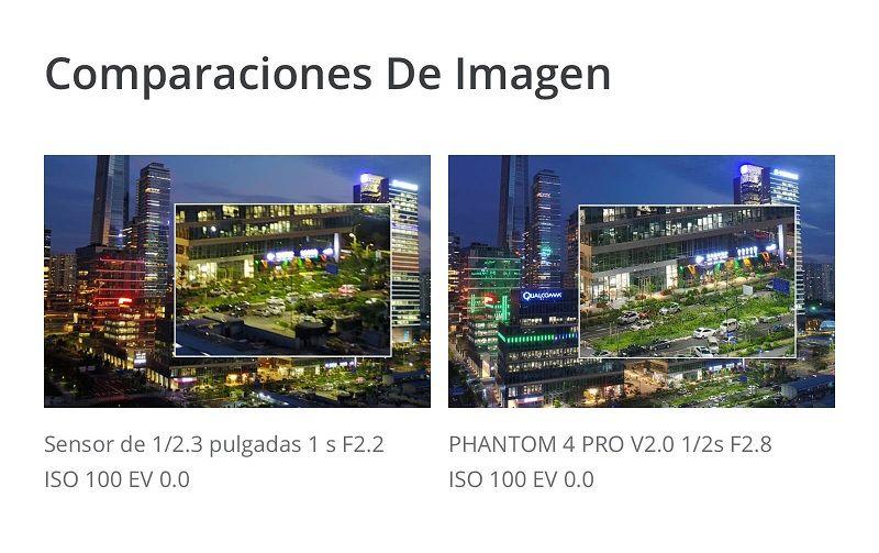 dron DJI Phantom 4 Pro V2.0 camara