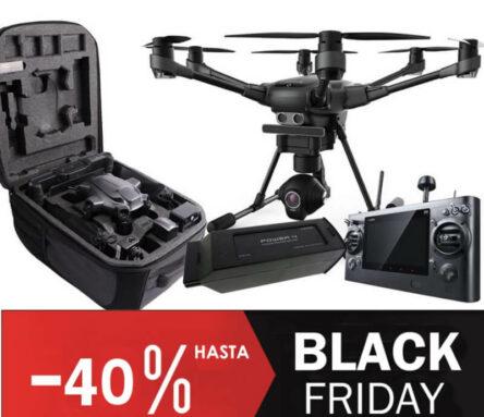 Dron profesional Yuneec Typhoon Intel Rebajado Black Friday