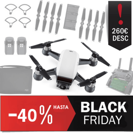 DJI Spark Combo Descuento Black Friday