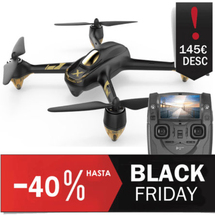 Dron Hubsan H501S Descuento Black Friday