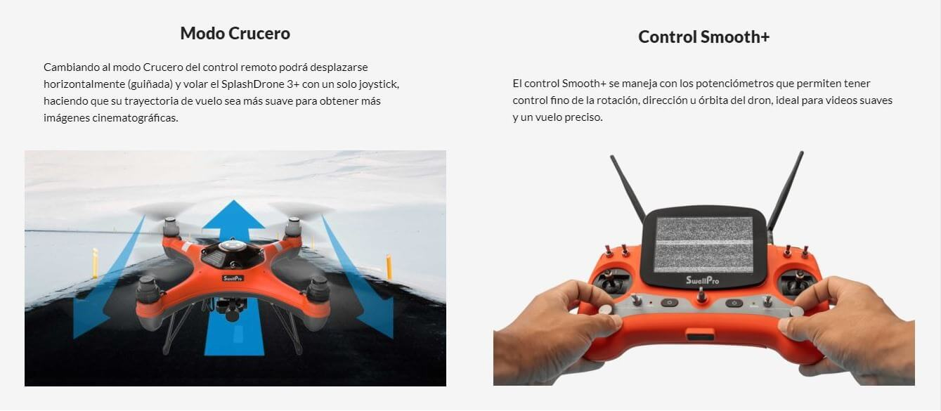 Drone Anfibio Splash Drone 3 plus