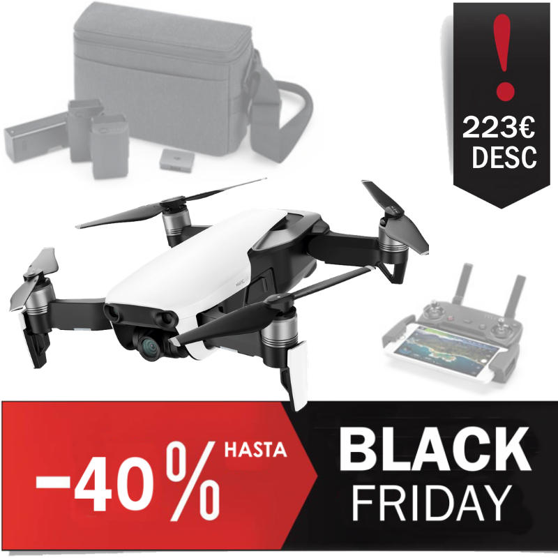 Drone DJI Mavic Air Combo Rebaja Black Friday