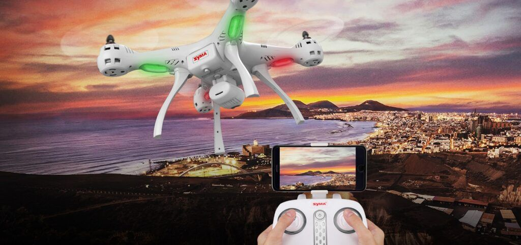 Dron GPS Syma X8 Pro GoPro