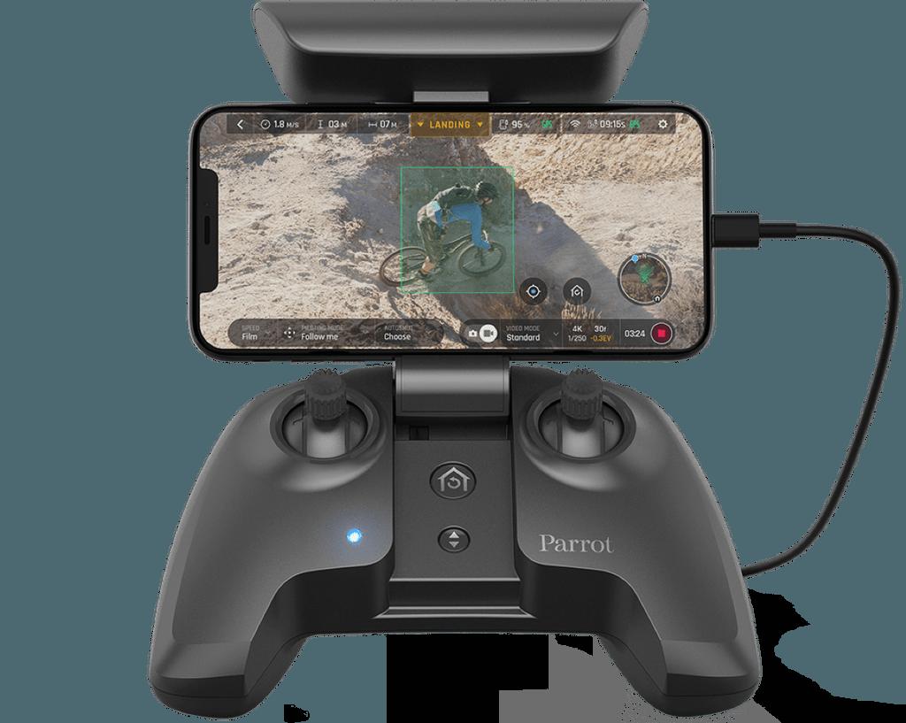 Mando Skycontroller 3 del dron FPV parrot anafi