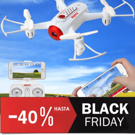 Rebaja Black Friday Drones FPV Syma