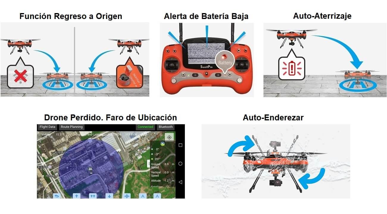 Splash Drone 3+ Vuelo Seguro