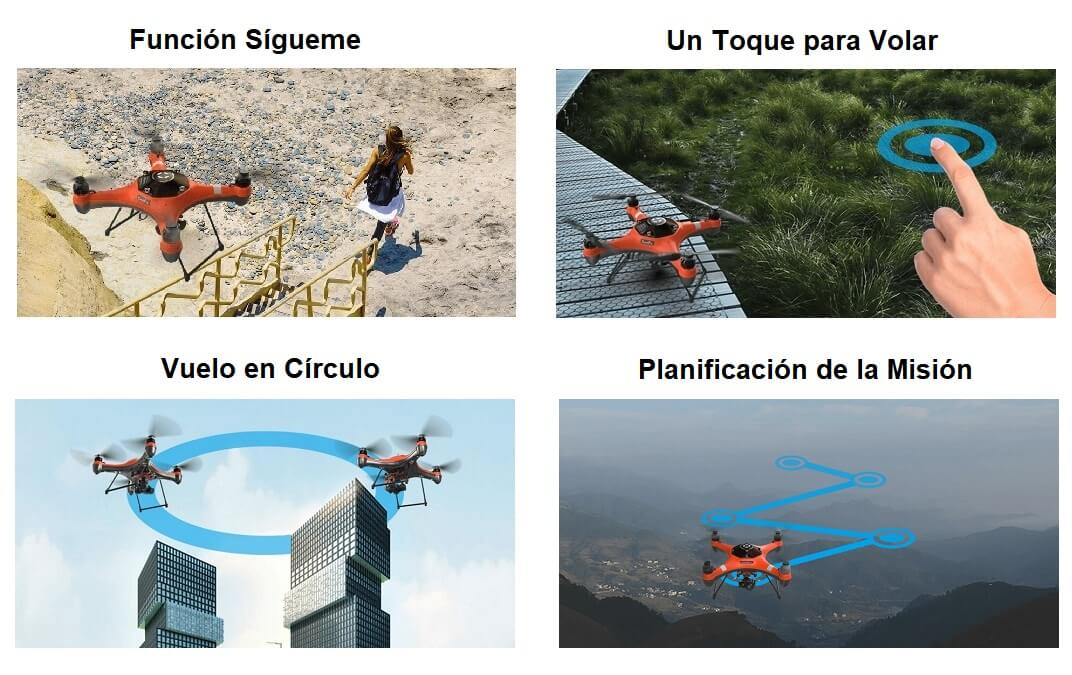 Vuelos Inteligentes Splash Drone 3+