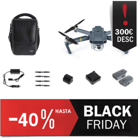 dron DJI Mavic Pro Combo Fly More Oferta Black Friday