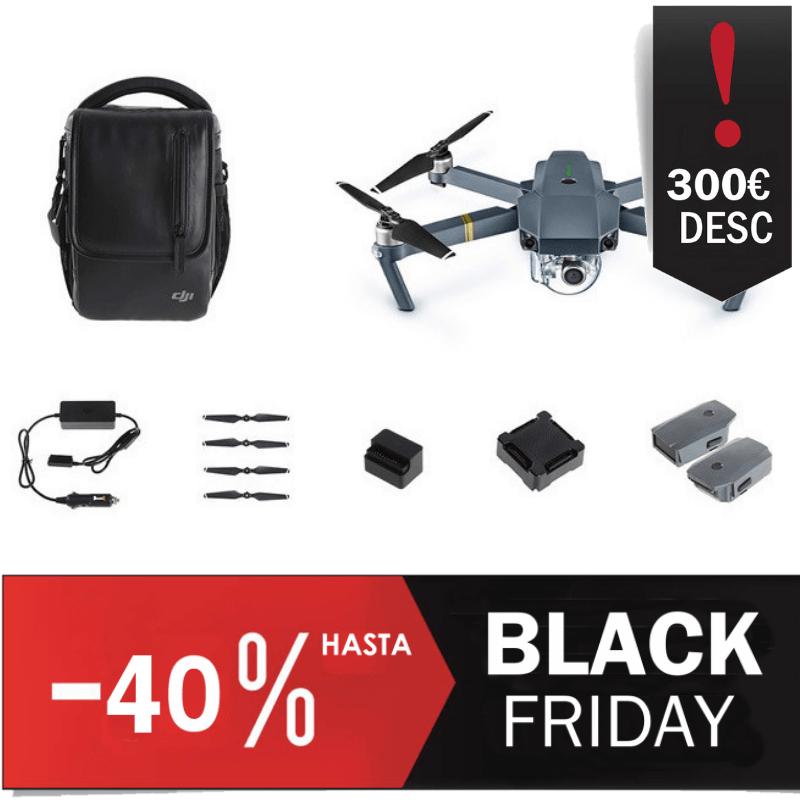 dron DJI Mavic Pro Combo Fly More Oferta Black Friday
