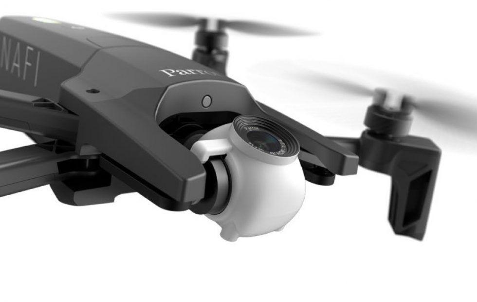 dron FPV parrot anafi gimbal 180