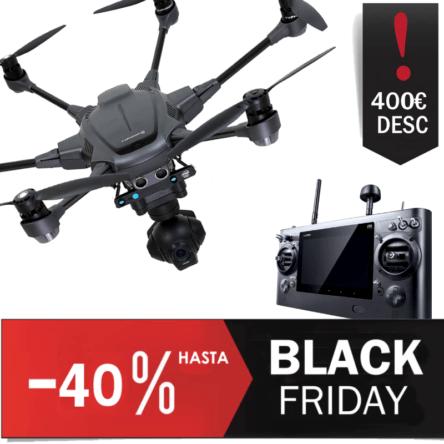 dron profesional Yuneec Typhoon H Intel Real Sense Oferta Black Friday