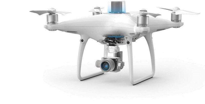 drone mapeo dji phantom4 modulo rtk