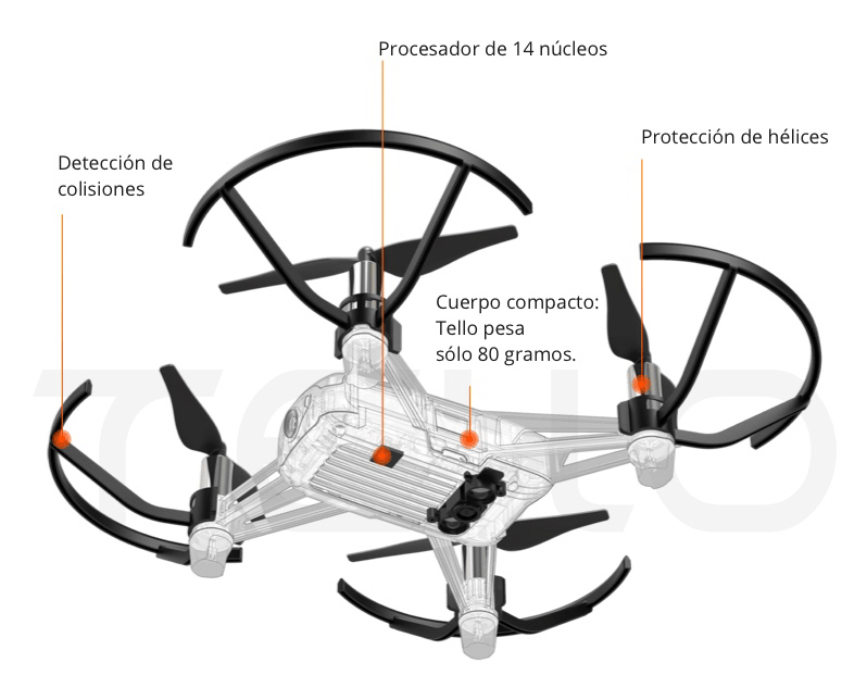 el mejor dron para empezar DJI Tello