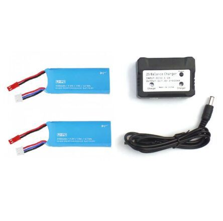 Pack 2 baterias drone FPV Hubsan H216A