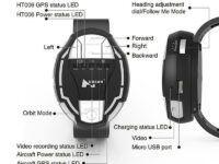 Reloj de control para drones Hubsan