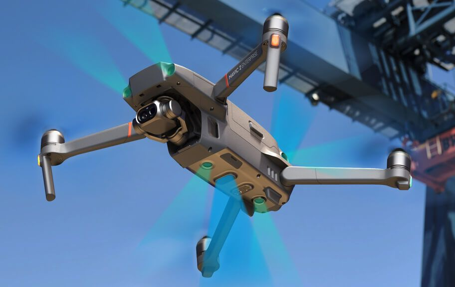 drone DJI Mavic 2 Enterprise Dual con sensores