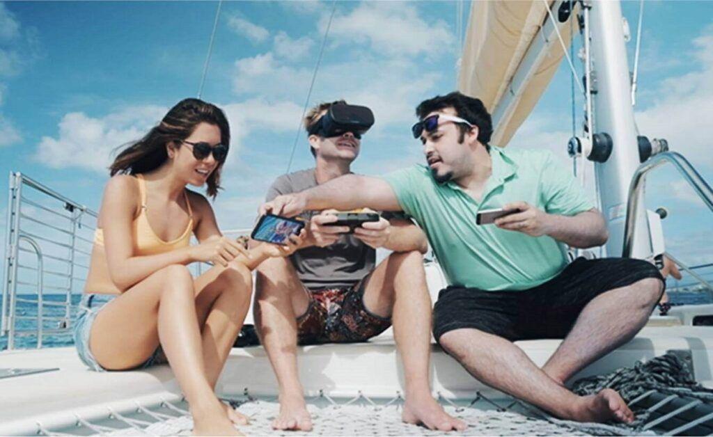 experiencia RV con drone FPV Gladius Mini