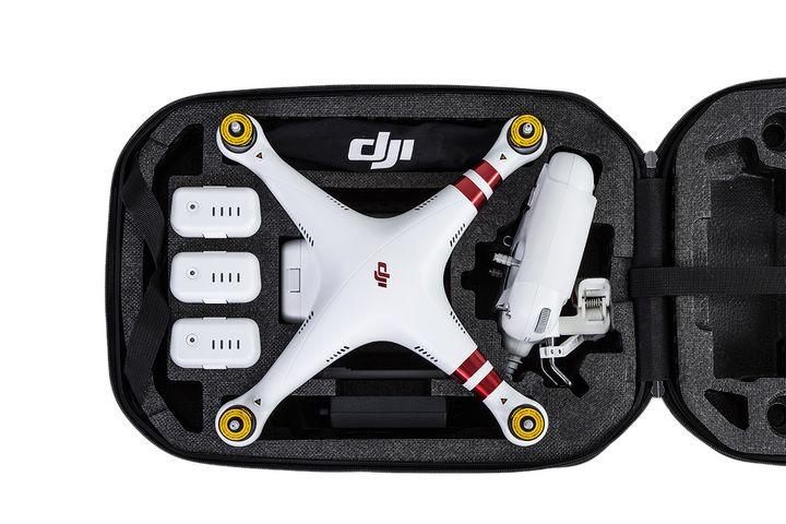 mochila cuadricoptero DJI phantom 3