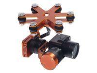 Camara 4K 2 ejes impermeable para drone anfibio Splash Drone 3