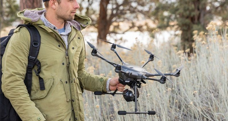 Drone Yuneec Typhoon H Plus 4k CMOS 1 pulgada