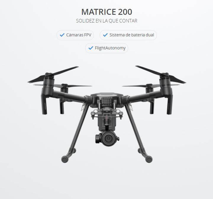 Drone industrial DJI Matrice 200