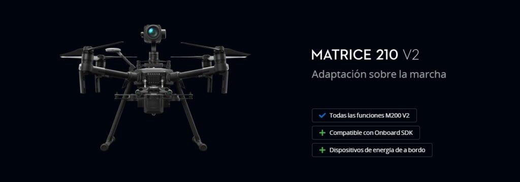 Drone industrial DJI Matrice 210 V2