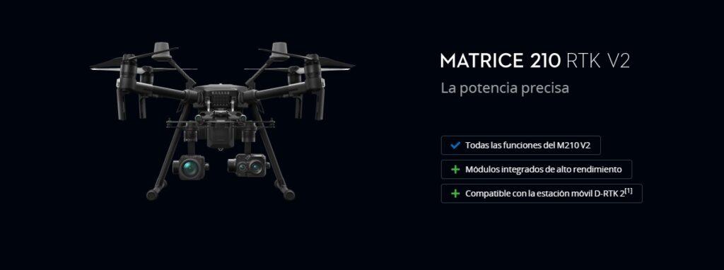 Plataforma DJI Matrice 210 RTK V2