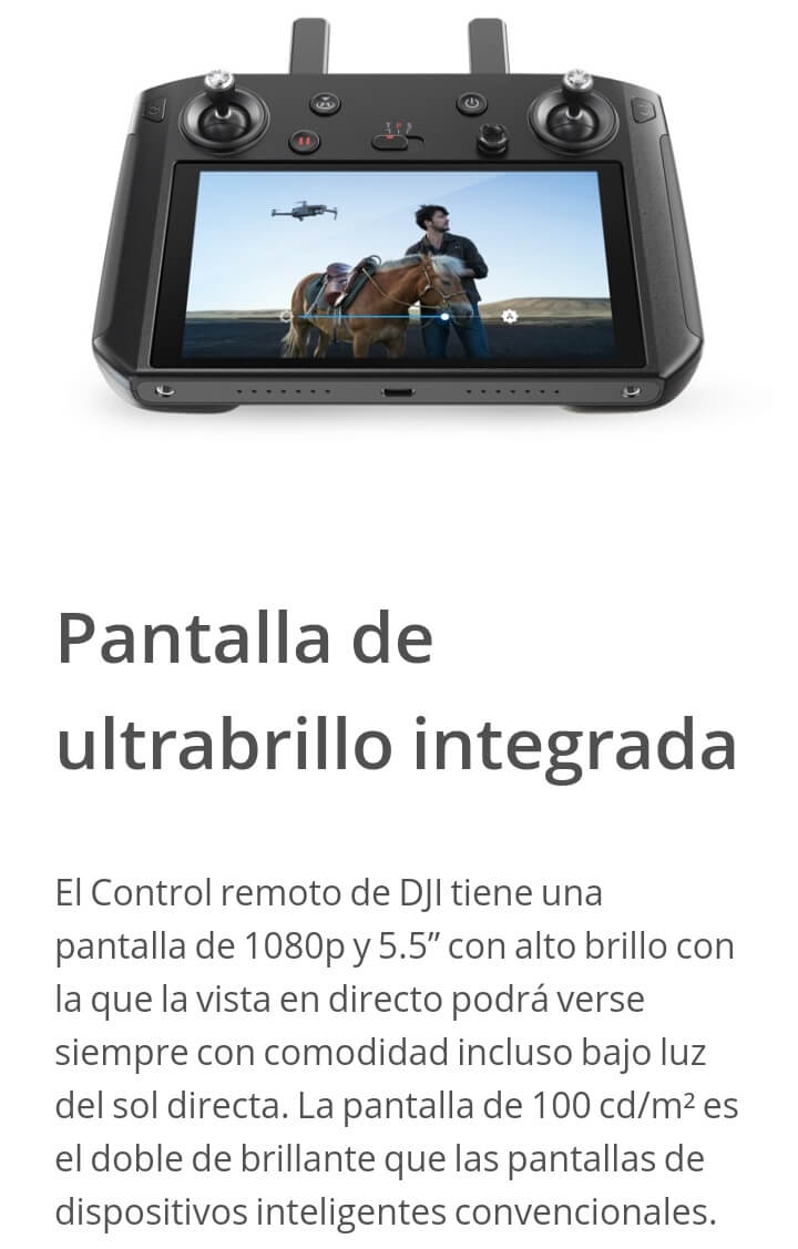 Smart Controller Pantalla Ultrabrillo