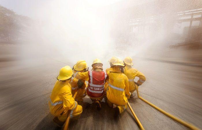 camara DJI zenmuse Z30 lucha incendios