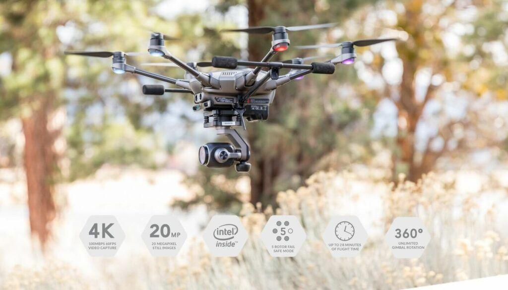 caracteristicas drone Yuneec Typhoon H Plus