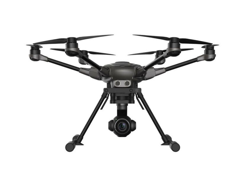multicoptero FPV yuneec typhoon H plus Intel Real Sense