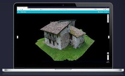 Drone Parrot Anafi Work Modelado 3D