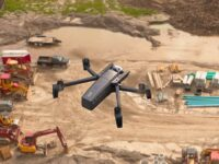drone Parrot Anafi Work para supervision