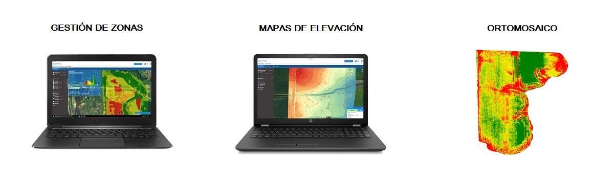 Camara agricola Sentera AGX710 aplicaciones